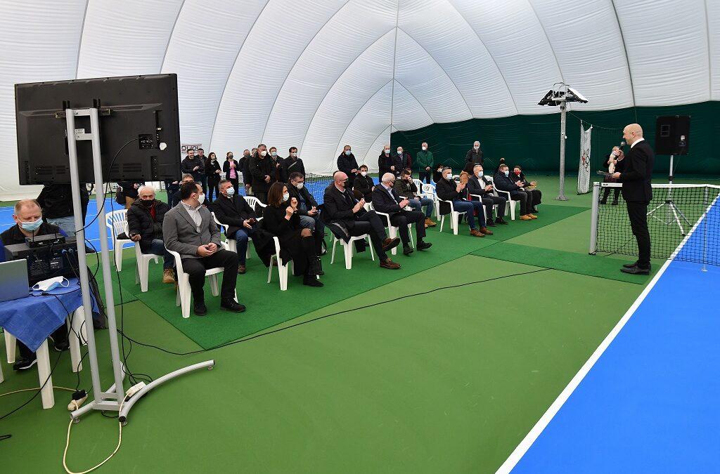 Otvoreni novi natkriveni teniski tereni
