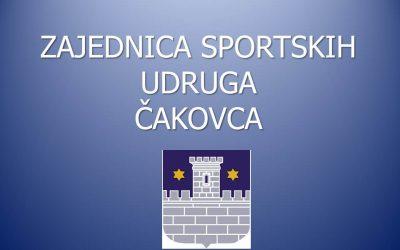 ODLUKA o odabiru i visini financijske potpore programima i projektima namijenjenim zadovoljavanju javnih potreba u sportu Grada Čakovca za 2019.